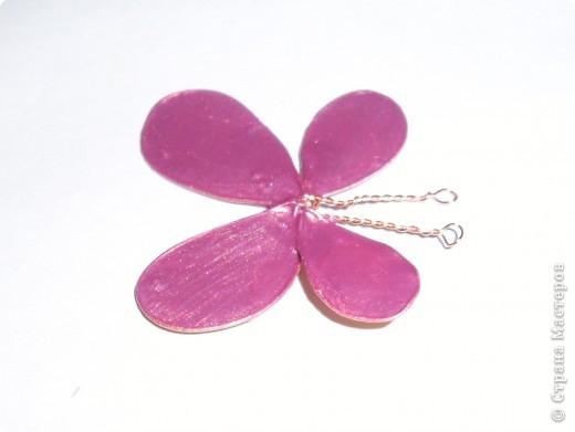 Это бабочка сделана из проволоки и лака фото 1