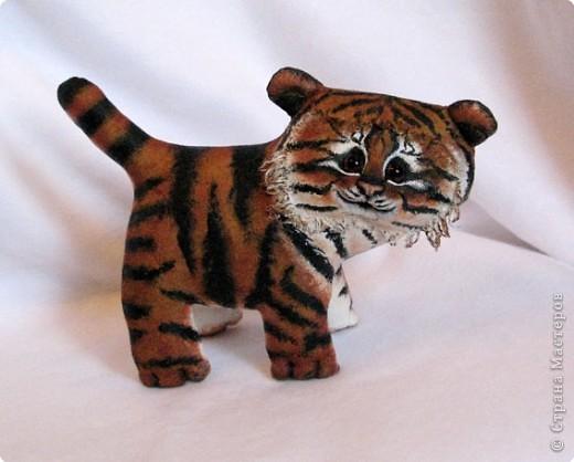 Шитьё: Маленький усурийский тигренок фото 1