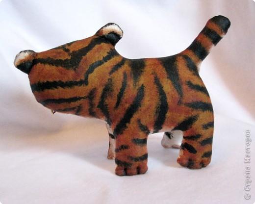Шитьё: Маленький усурийский тигренок фото 4