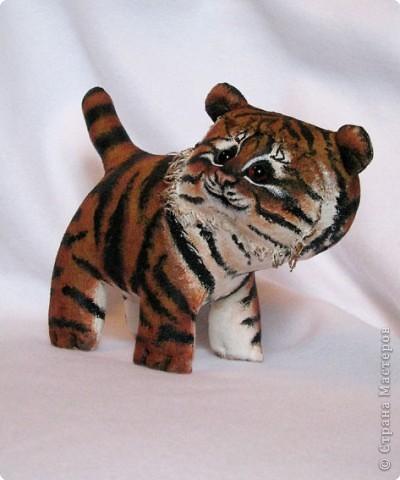 Шитьё: Маленький усурийский тигренок фото 2