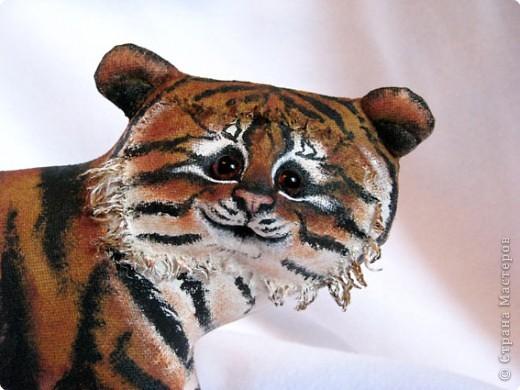 Шитьё: Маленький усурийский тигренок фото 3