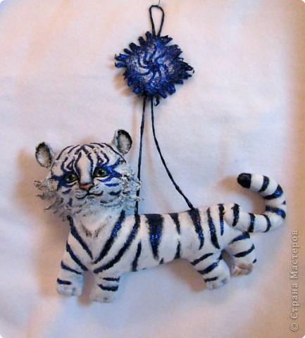 Шитьё: Тигр-подвеска фото 1