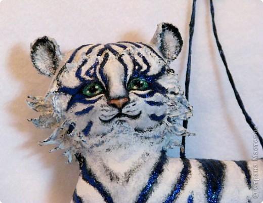 Шитьё: Тигр-подвеска фото 2