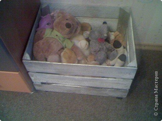 Не определена: Ящик для детских игрушек фото 3
