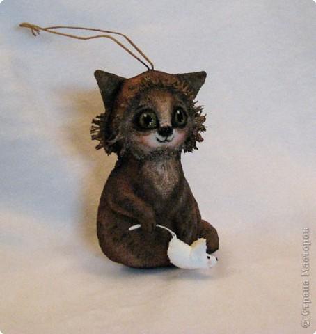 Шитьё: Кошка поймала мышку фото 1
