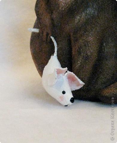 Шитьё: Кошка поймала мышку фото 2