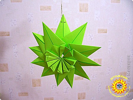Оригами: Украшение фото 2