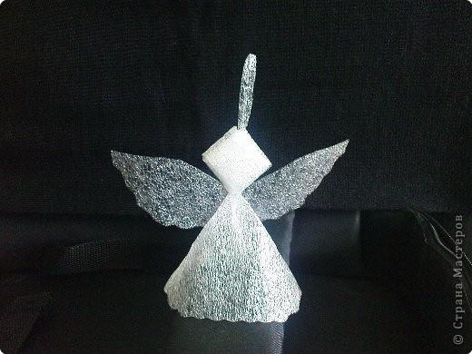 Ангелочек от Наташа22 из упаковочного материала