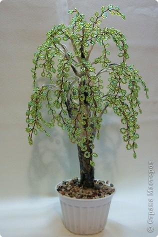 Бисероплетение Деревья из бисера Бисер фото 2.