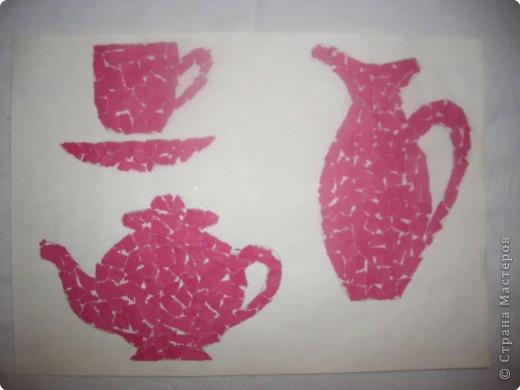 Чайный сервиз из бумаги