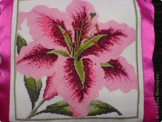 Вышивка крестом: Подушки с вышивкой фото 1