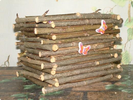 Кашпо из дерева  мастер класс