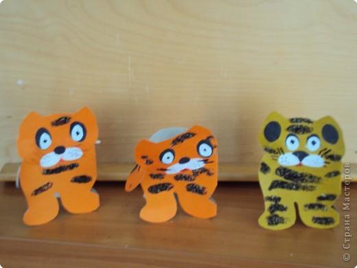 Наши новогодние тигрята