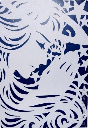 Вытыканки из бумаги шаблоны к новому году - Самые красивые и креативные...