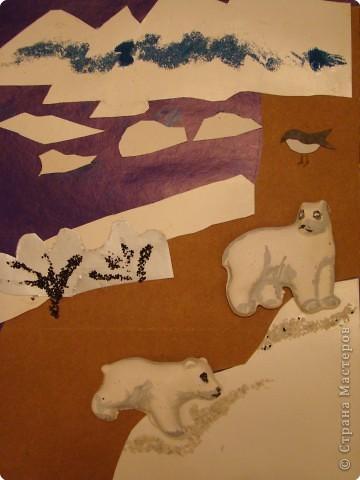 Картина панно рисунок новый год белые