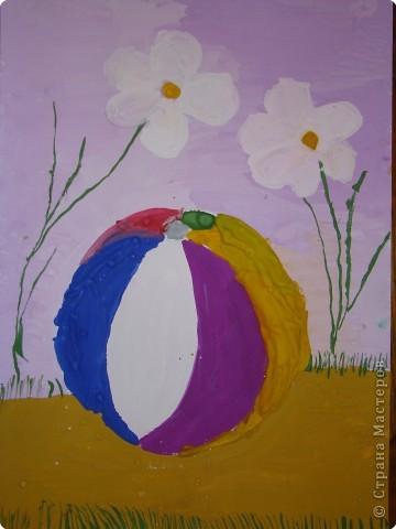 Первый рисунок. Педагог Селезнева Е.Н. Работа дочки ( было 5 лет) фото 2