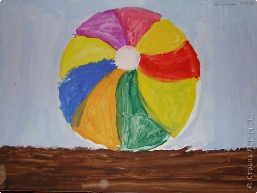 Первый рисунок. Педагог Селезнева Е.Н. Работа дочки ( было 5 лет) фото 1