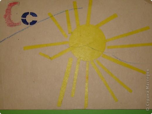 когда моему сыну было 2-3 года, я решила сделать такую азбуку вместе с ним. фото 3