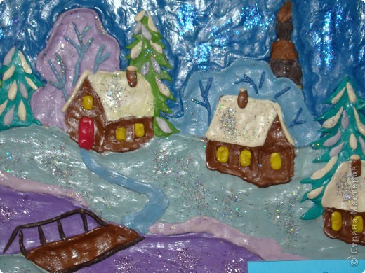 """В конце декабря в Центре  Внешкольной Работы   """" Эврика"""" проходит новогодняя выставка детских работ и новогодние представления. фото 6"""