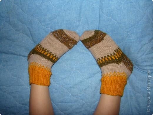 Носочки для сына и дочки фото 2