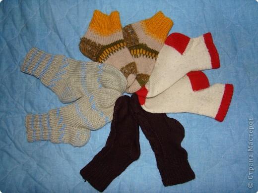 Носочки для сына и дочки фото 1