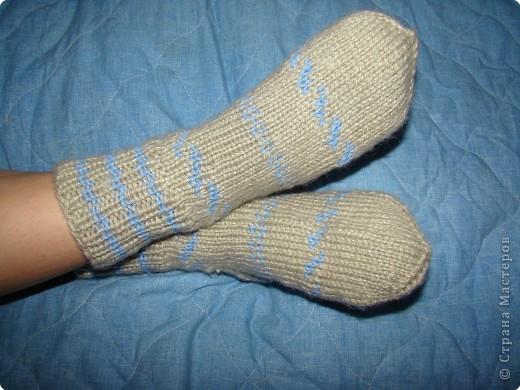 Носочки для сына и дочки фото 5