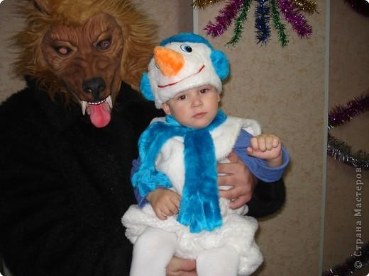 Дениска с волком! фото 1