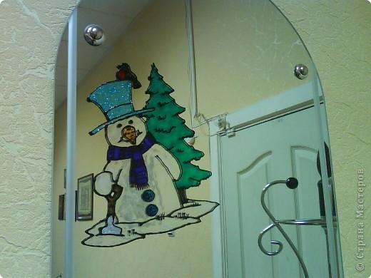 Вот такой получился снеговик, фото 2