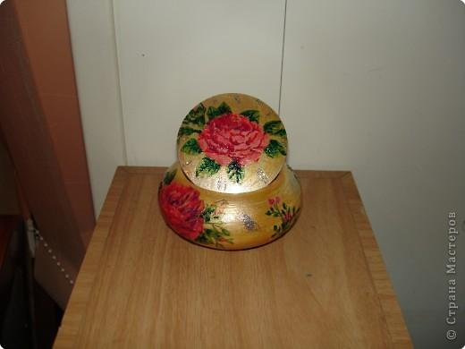 Декупаж: Шкатулочка для драгоценностей.... фото 1