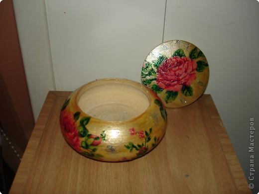 Декупаж: Шкатулочка для драгоценностей.... фото 3