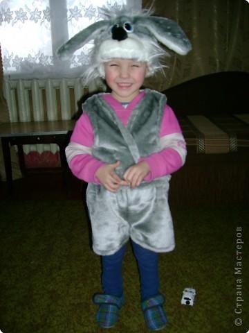 Света-снежинка,Кирилл-зайчонок. фото 8