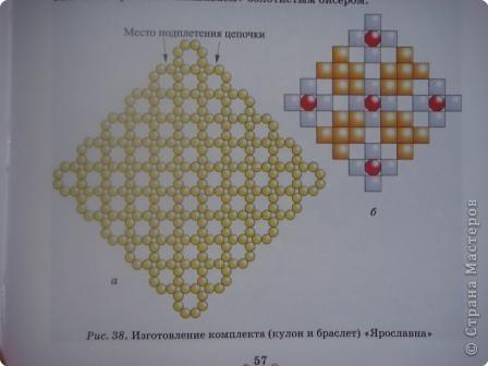 Бисероплетение: Схема  фото 2