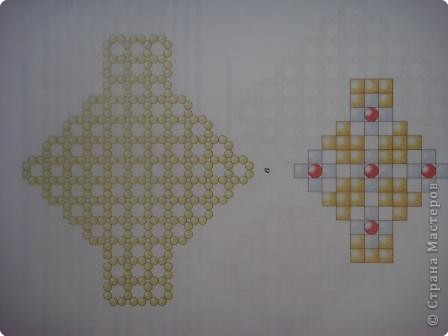 Бисероплетение: Схема  фото 3