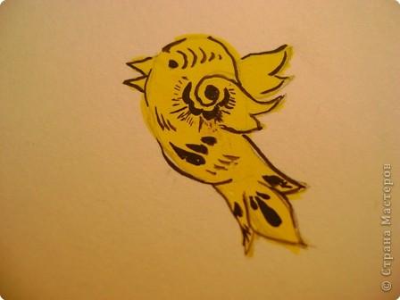 Вот, хочу показать некоторые фрагменты из моего альбома по хохломской росписи. Малина. фото 8