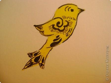Вот, хочу показать некоторые фрагменты из моего альбома по хохломской росписи. Малина. фото 9