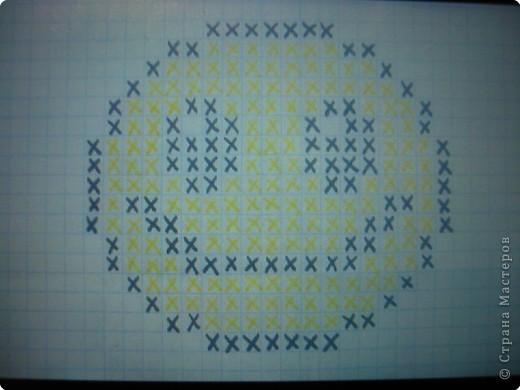 """Вот такую игольницу я сделала на выходных. Это очень просто!    На квадратном кусочке канвы нужно вышить то, что нравится и соединить с другим таким же (можно без вышивки) квадратным кусочком канвы. Сшивать их по типу бискорно (""""кривульки""""). фото 4"""