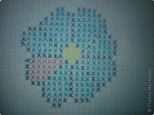 """Вот такую игольницу я сделала на выходных. Это очень просто!    На квадратном кусочке канвы нужно вышить то, что нравится и соединить с другим таким же (можно без вышивки) квадратным кусочком канвы. Сшивать их по типу бискорно (""""кривульки""""). фото 5"""