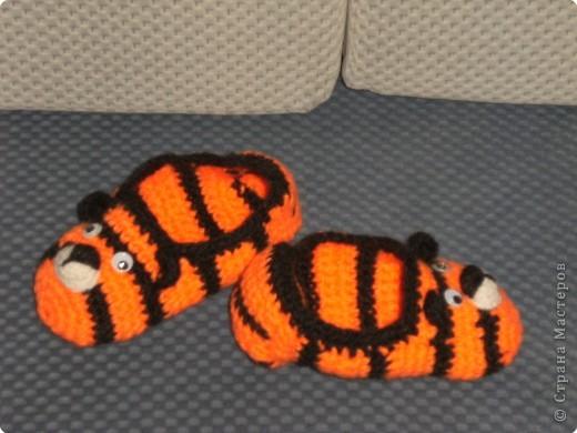 Тигрёшки на ножки фото 1