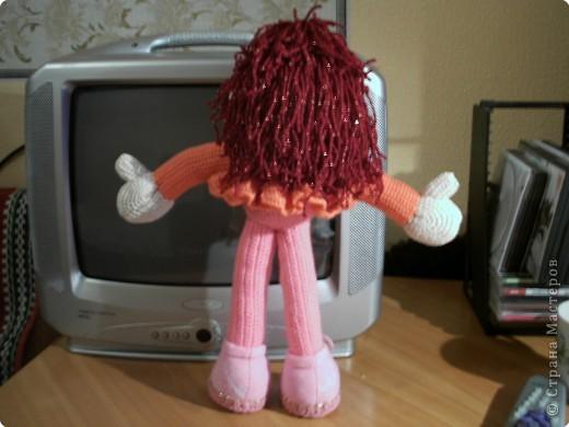 Вот девочки, выкладываю на ваш суд очередное мое творение - кукла Маринка. А башмачки я сделала по МК Ликмы.  фото 2