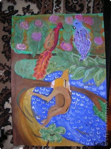 Рисование и живопись: Джунгли