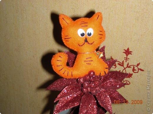 Шитьё: Тигренок-котенок фото 1