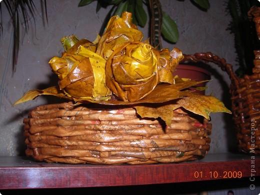 Осенью  сделала букет и подарила сестре на День учителя фото 1