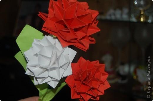 Оригами: Георгины фото 1