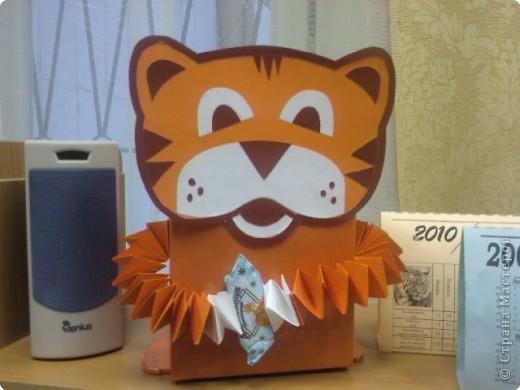 ТИГРА (коробка для подарка)
