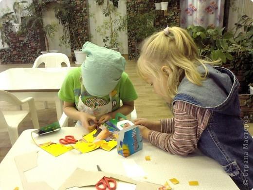 В последний день декабря решили мы с девчёнками порадовать мам - сделать для них косметички. фото 4