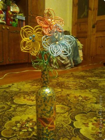 Бисероплетение: Цветы,просто цветы))) фото 1