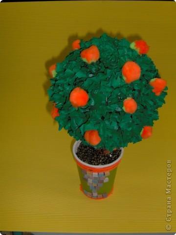 Торцевание: Апельсиновое дерево