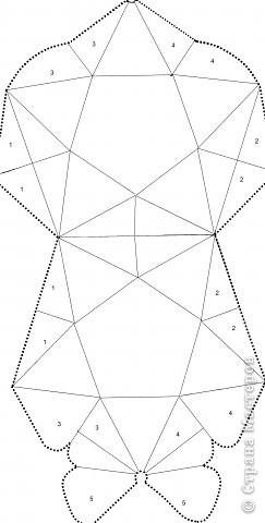 Аппликация, Бумагопластика: Объёмная звезда! фото 2
