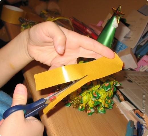Новогодний подарок своими рука? Легко! Я расскажу вам как сделать сладкую Ёлку! фото 4