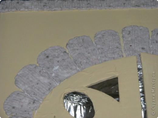 Макет: камин из коробок к новому году МК фото 11
